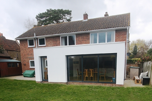 single storey extension Design, planning and building regulations in Scarborough